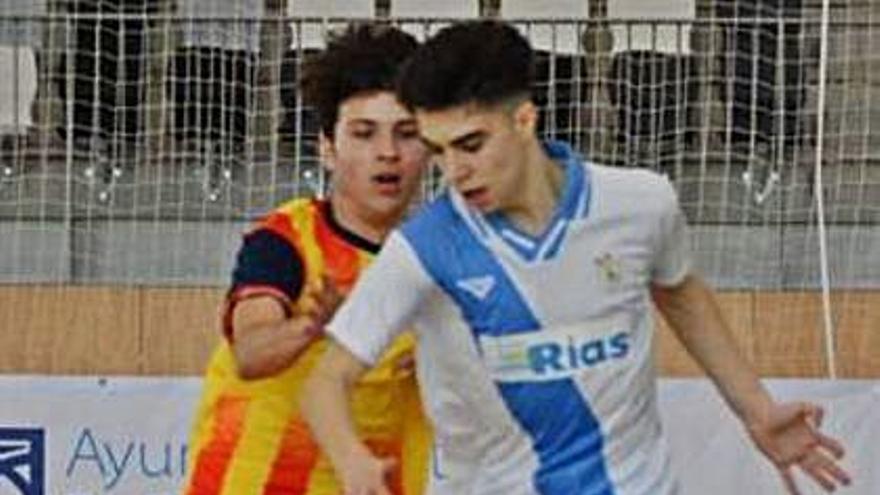 Samu Monín, primer fichaje del A Estrada Futsal