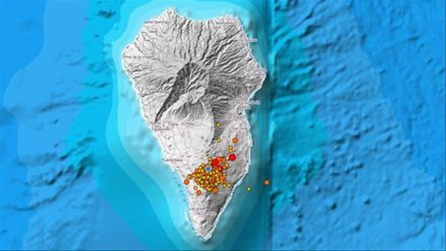 La Palma registra más de 80 seísmos