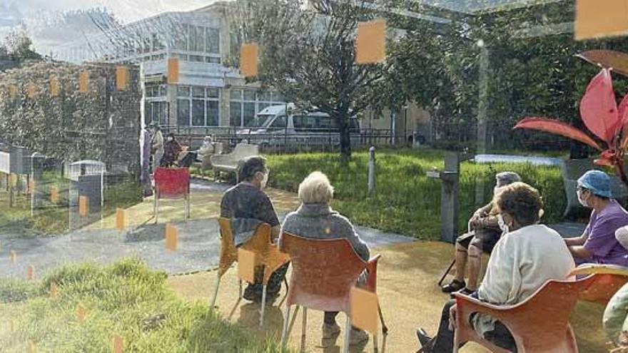 Las residencias de mayores afrontan el otoño con más precaución y conocimiento sobre el virus