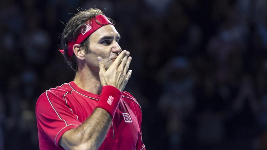 Una subasta de objetos de Federer recauda más de 3 millones de euros