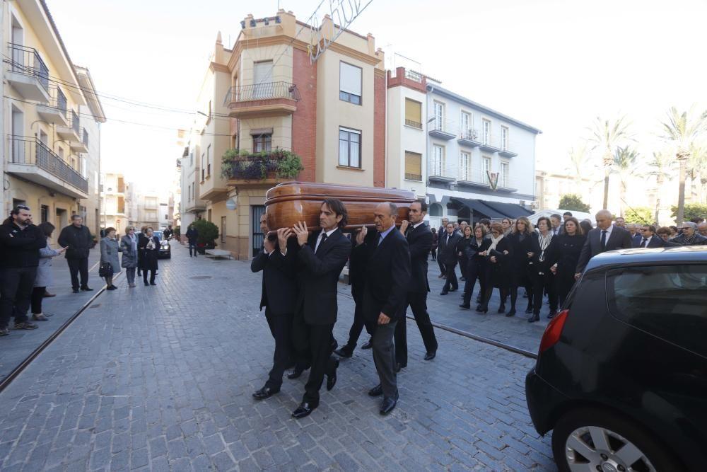 Carlet misa funeral de Alberto Primo marido de Mar