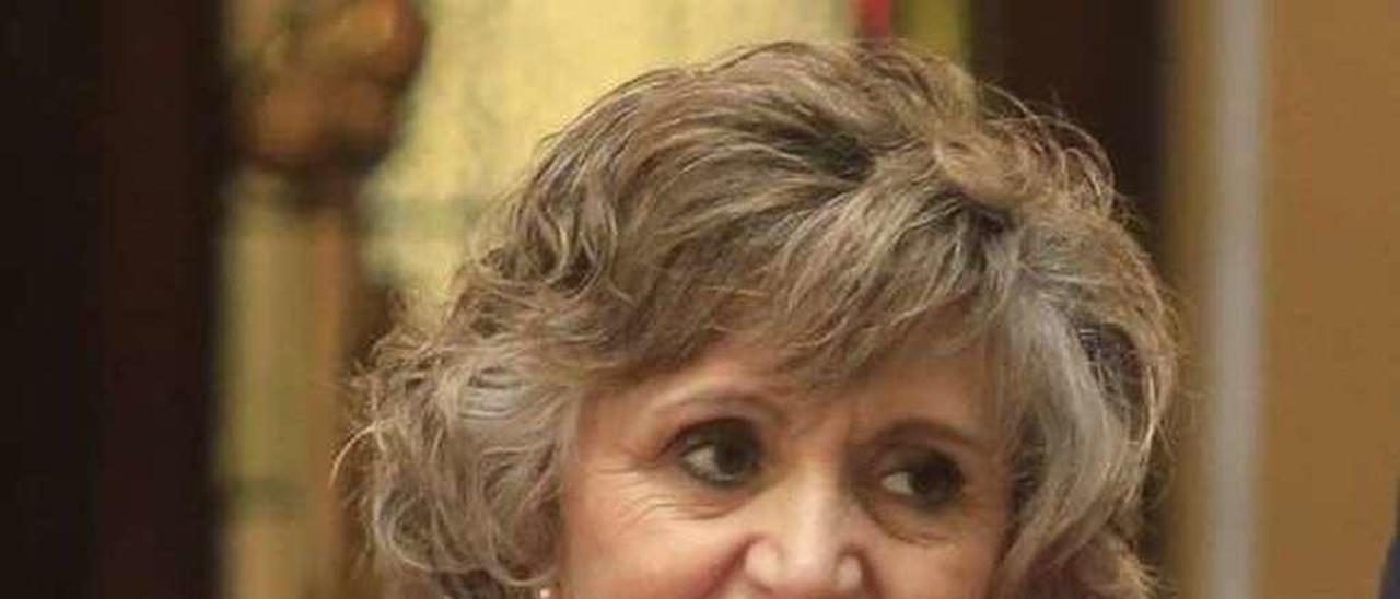 María Luisa Carcedo.