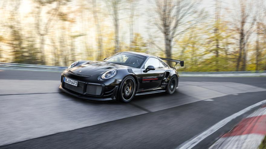 El Porsche 911 GT2 RS establece un nuevo récord en el circuito de Nürburgring