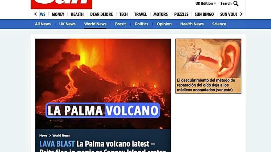 Pánico y escenas apocalípticas, en la prensa internacional