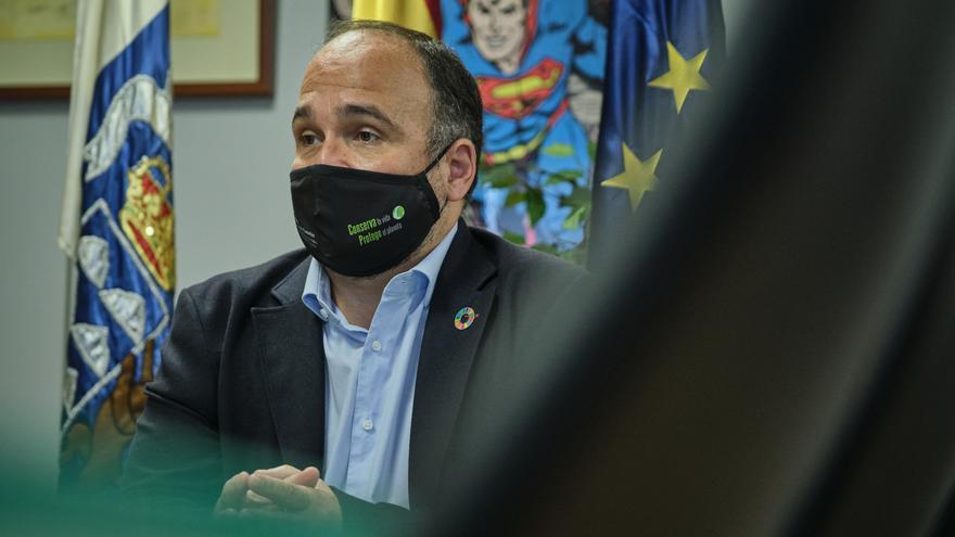 """""""El gran objetivo para 2021 es aprobar la Ley Canaria de Cambio Climático"""""""