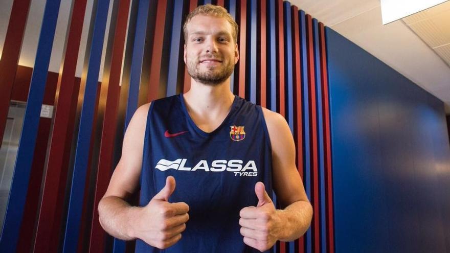 El Barça Lassa reforça el seu joc exterior amb l'eslovè Jaka Blazic