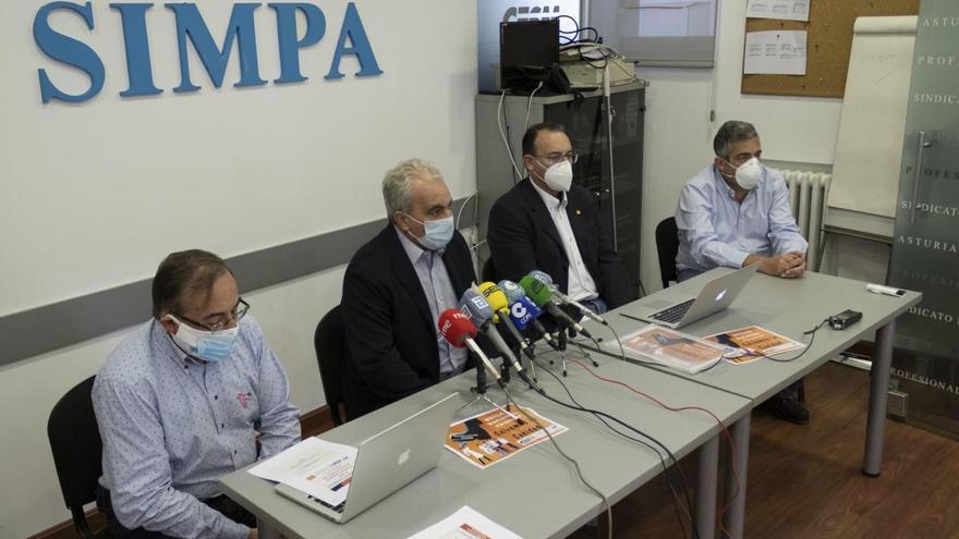 Los médicos asturianos inician una huelga el próximo martes