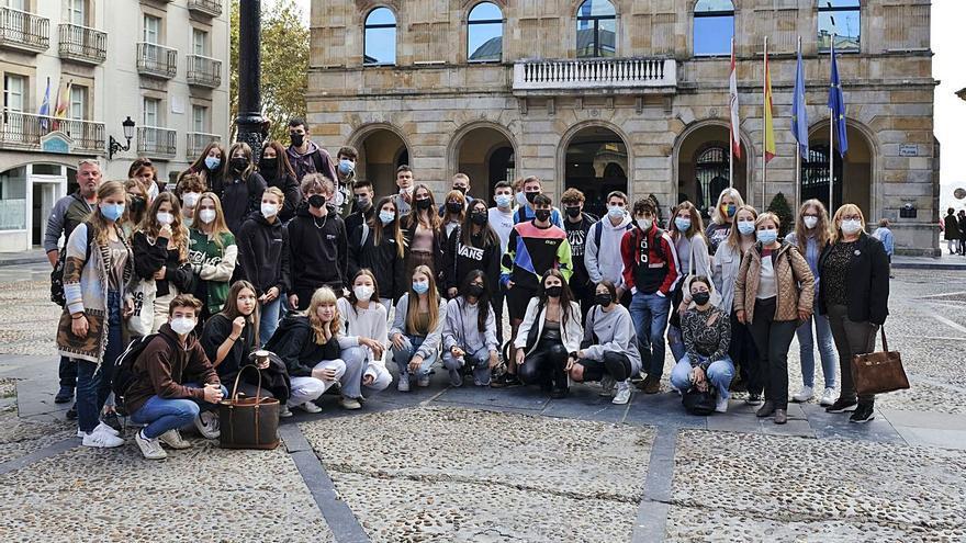 El IES Doña Jimena estrecha lazos con Austria con la acogida de 19 estudiantes