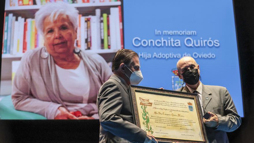 """Alfredo Quirós, sobrino de Conchita Quirós: """"He tenido la suerte de ser durante treinta años fiel escudero, permanente aprendiz y confidente de Concha"""""""