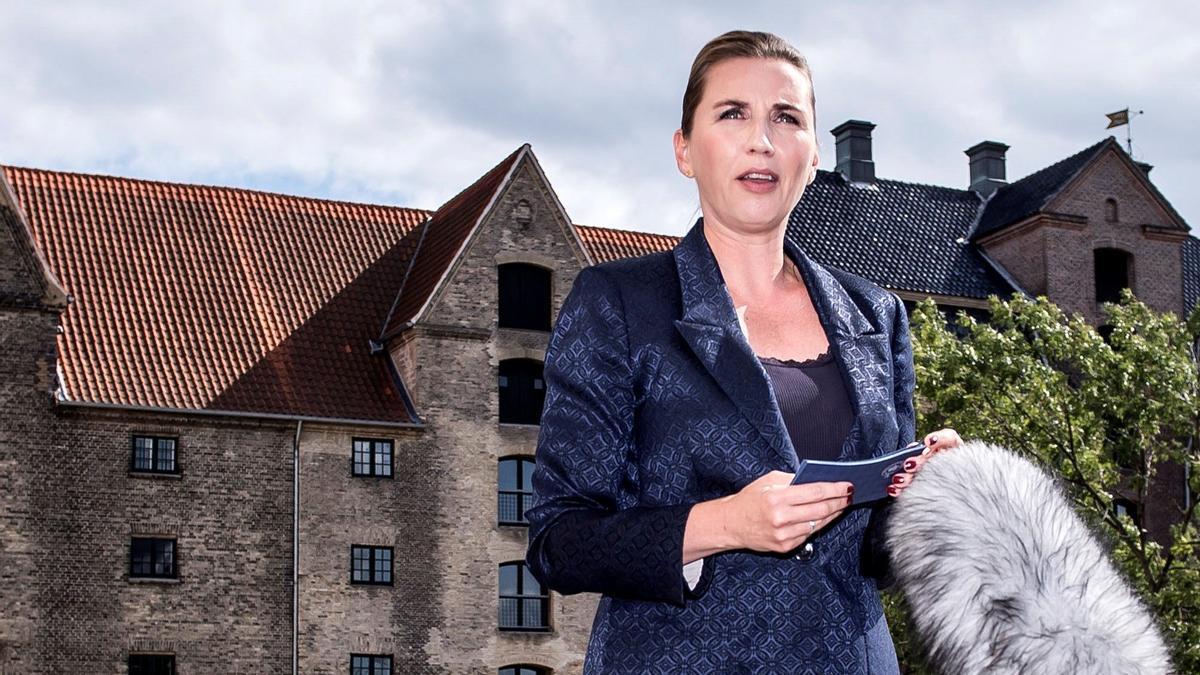La primera ministra de Dinamarca, Mette Frederiksen, en una imagen de archivo.