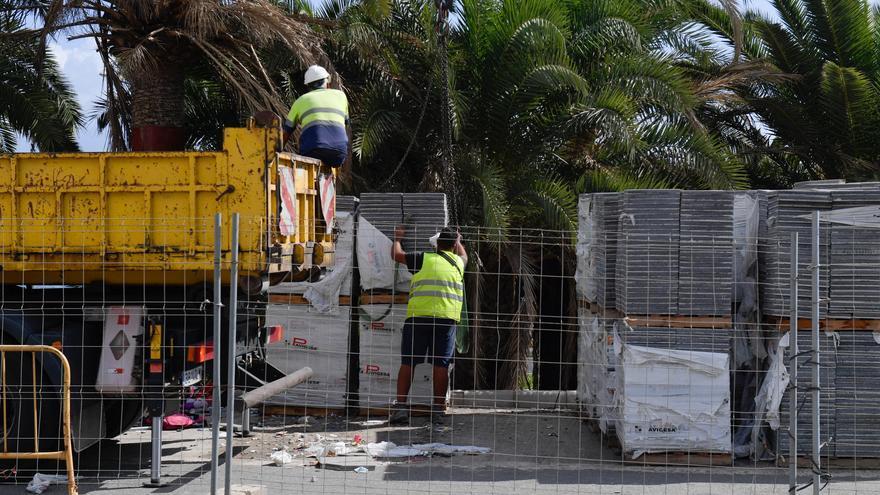 Arranca de nuevo la obra paralizada de la metroguagua en el Cono Sur