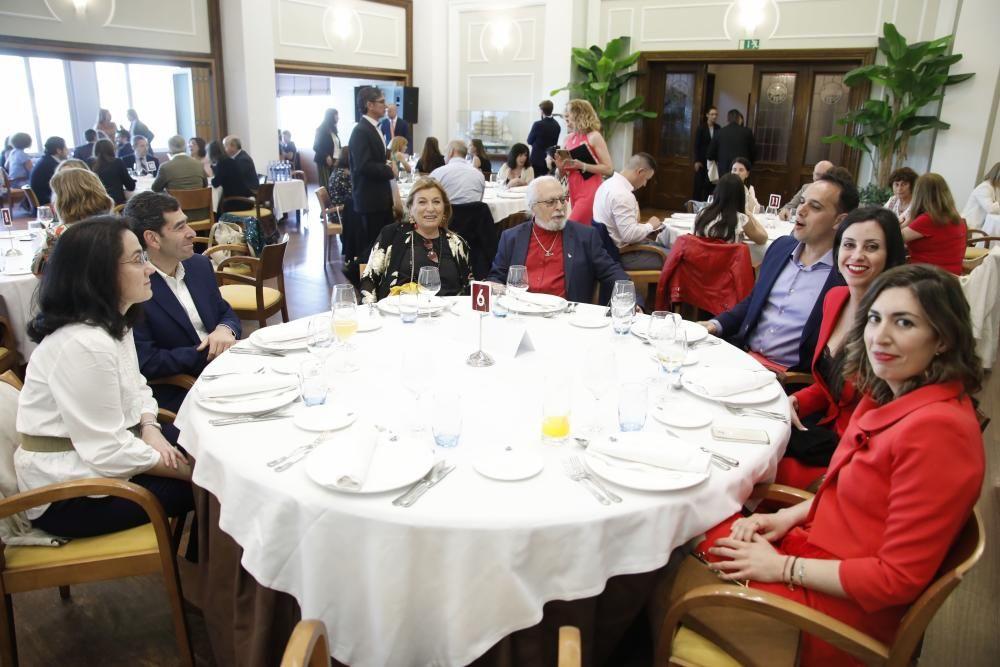 Cena benéfica de Asturmanager en Gijón