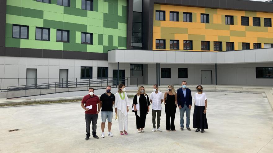 """Así es el IES de La Fresneda el primero de los institutos de """"nueva generación"""" asturianos"""