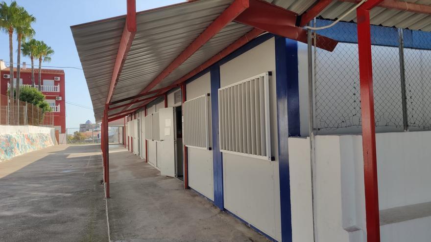 Una inversión de 1,8 millones para eliminar los barracones del colegio de 1932 de Benitatxell