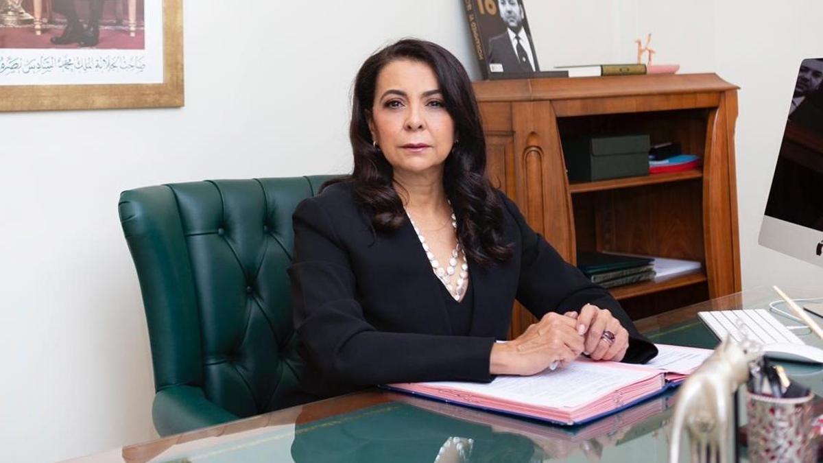 La embajadora de Marruecos, Karima Benyaich.