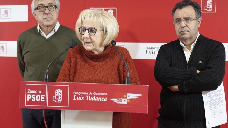 Dimite la procuradora socialista de Zamora Inmaculada García Rioja