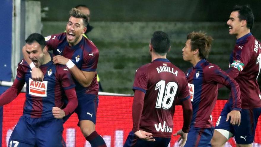El Eibar continúa con su racha de victorias