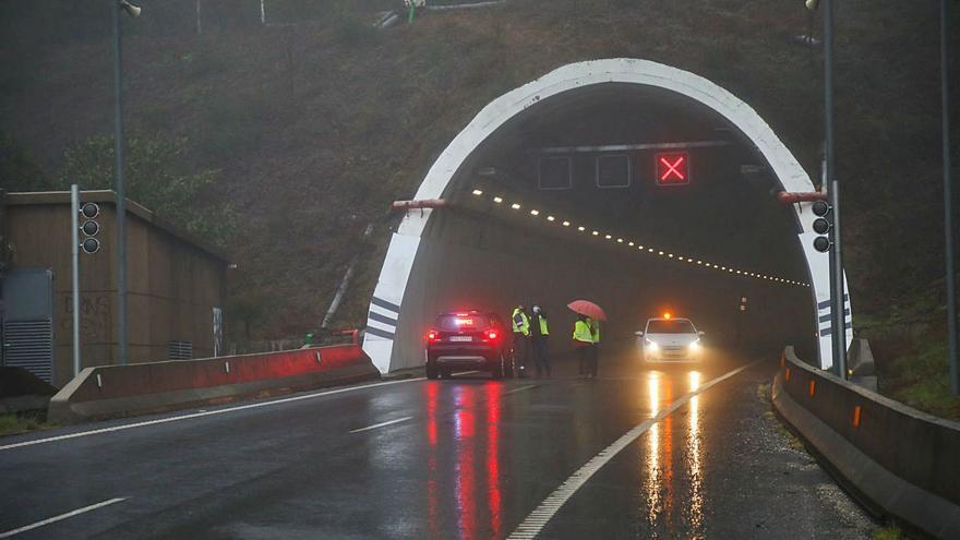 La Xunta denuncia la paralización de las obras del túnel de O Folgoso, en A Cañiza