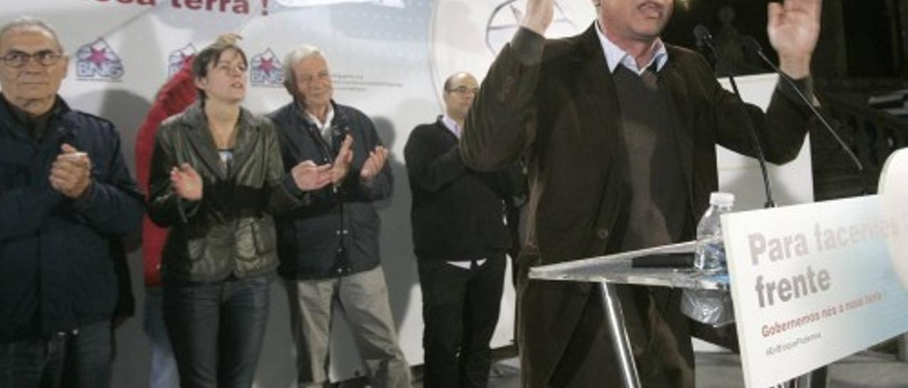 Inicio de la campaña Elecciones Gallegas 2012