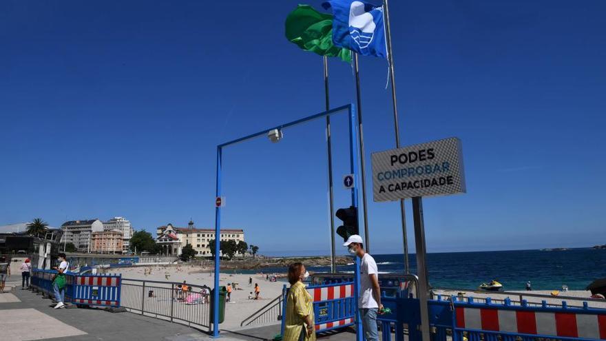 Entra en funcionamiento la web que controla el aforo en las playas