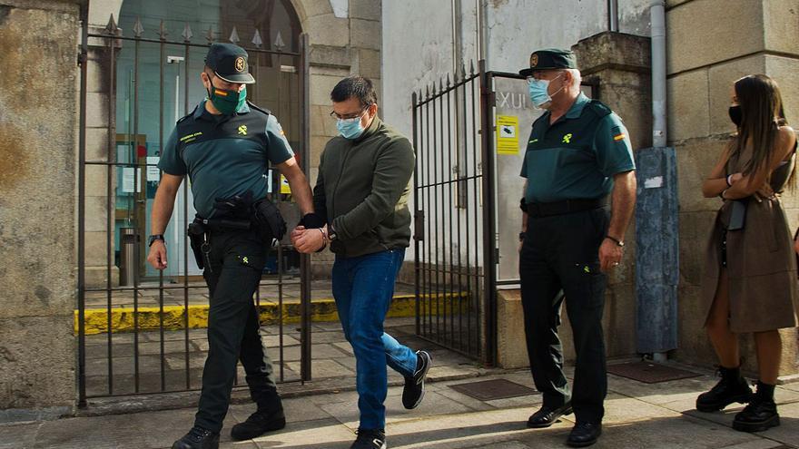"""El terrorífico y  macabro silencio de """"El Moro"""" sobre el triple crimen de Valga"""