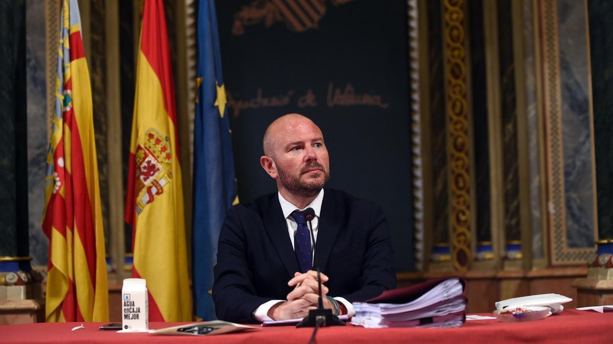 El presidente de la Diputación de València, Toni Gaspar.