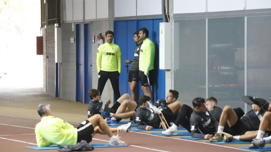 Las lesiones condicionarán el once de Víctor en Soria