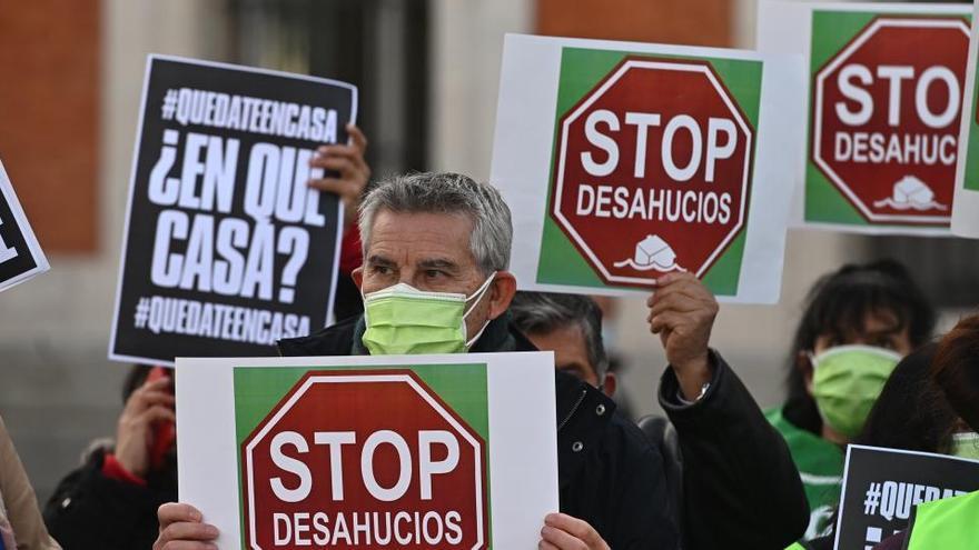 El Tribunal Constitucional abre la vía para frenar la mayoría de desahucios