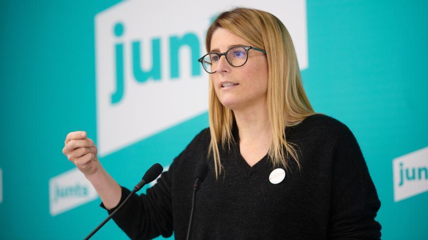 Elsa Artadi comunica a Sànchez i a Puigdemont que no vol formar part del Govern