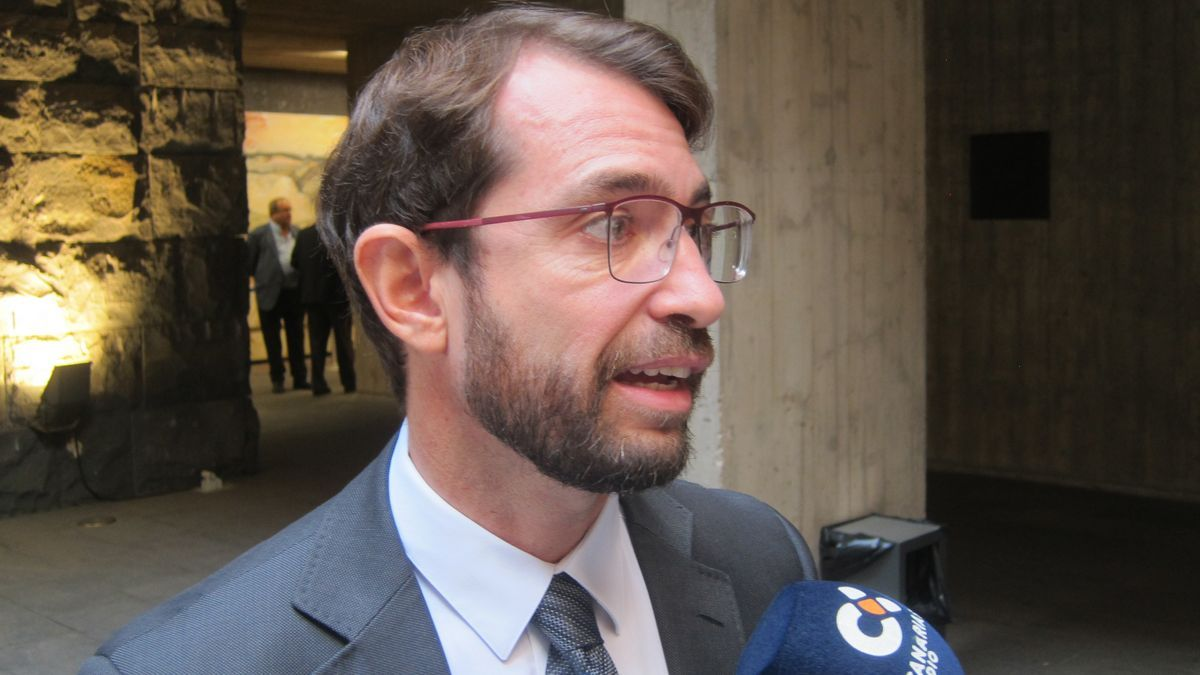 Antonio Olivera, viceconsejero de Presidencia del Gobierno de Canarias.
