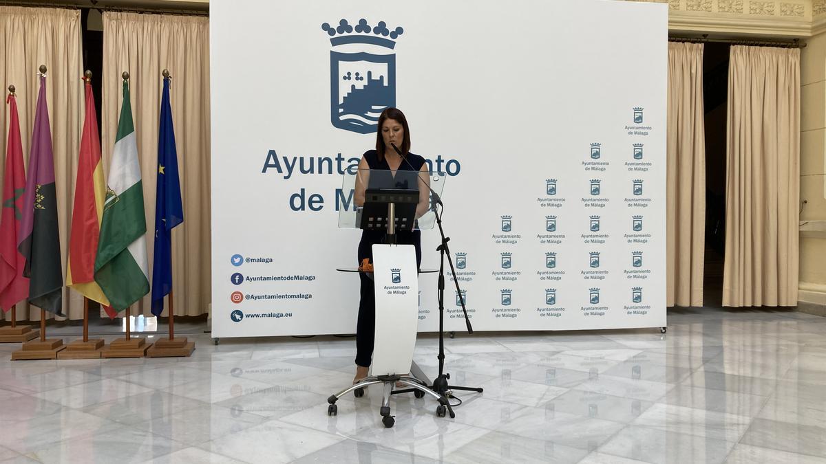 Noelia Losada, edil de Deporte.