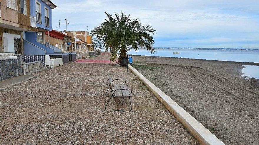 Un millón de euros para arreglar el paseo marítimo de Los Urrutias
