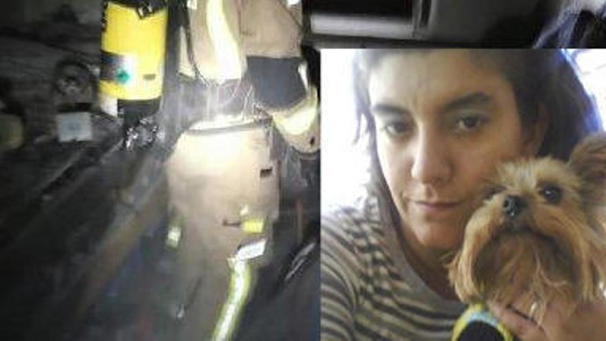Muere por covid la mujer que mató a su hija quemándola viva en Murcia