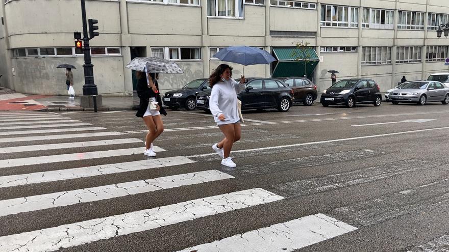 El bochorno da paso a las tormentas en Asturias