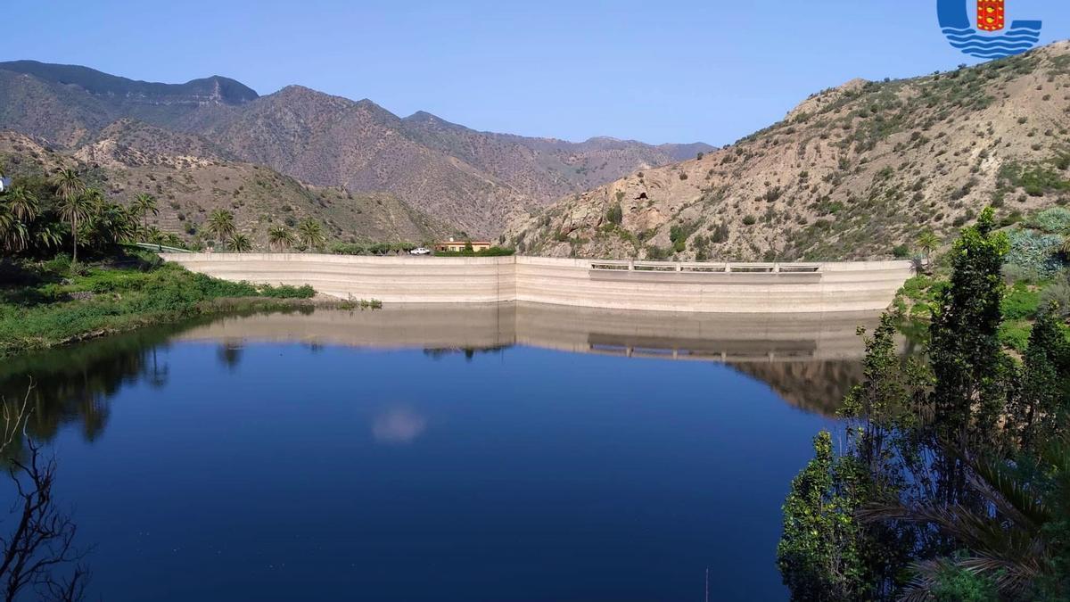 Imagen de una presa en La Gomera.