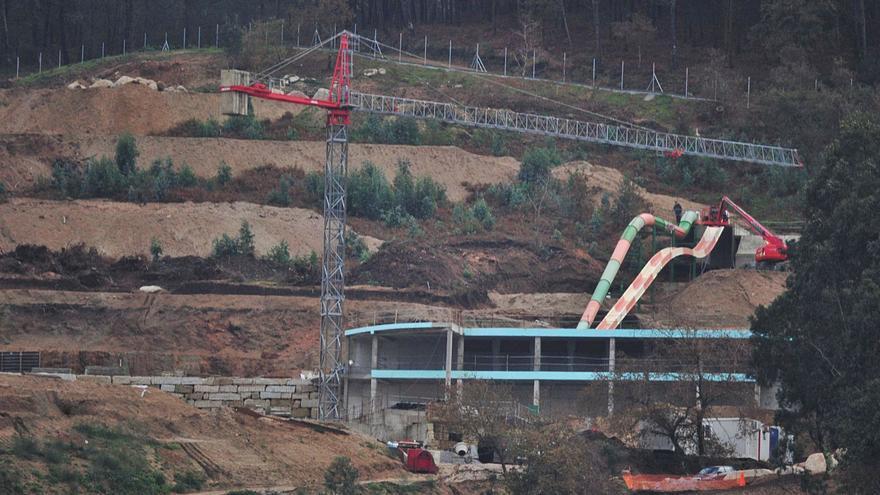 El aquapark de Meis, el más grande de Galicia, aumenta su presupuesto en un millón de euros