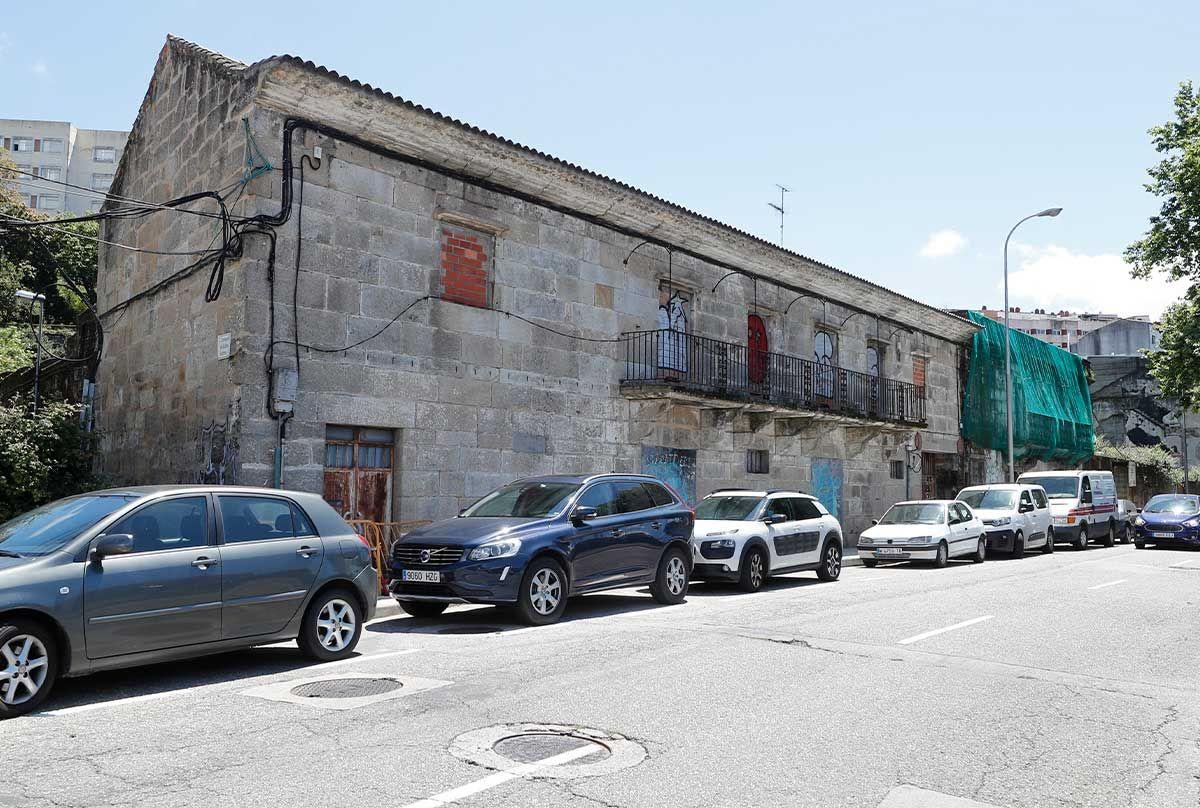 Factoría de salazón en Julián Estévez