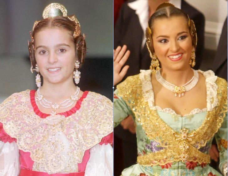 Corte 1999. ¿Habeis acertado?. Si: es Pilar Giménez Santamarina, «Piti», que subiría a lo más alto de la fiesta en 2010.