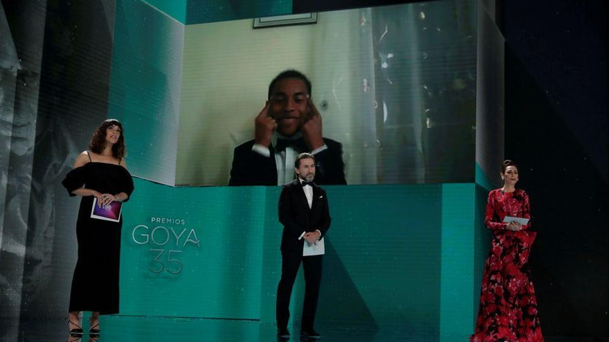 Adam Nourou, primer actor negro en ganar un Goya
