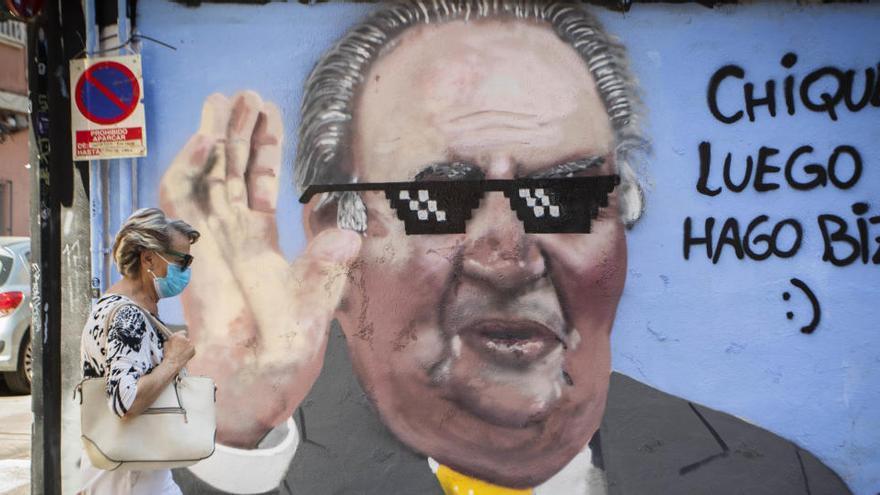 PSOE y Podemos chocan sobre la legalidad de costear los gastos del rey emérito
