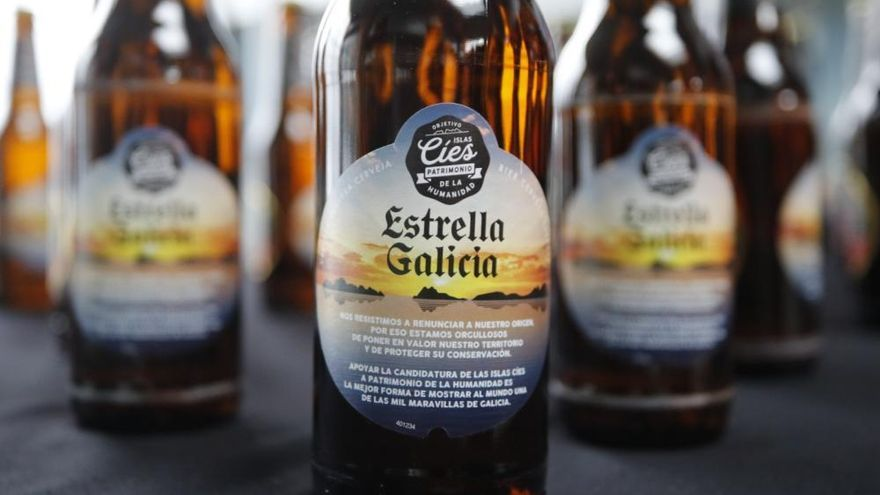 Las Cíes saben a cerveza gallega