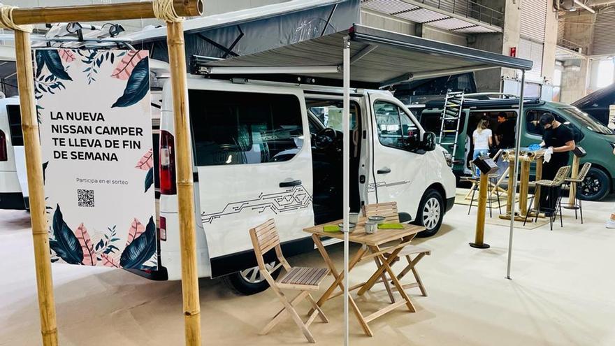 Salón del Caravaning 2021: Nissan presenta la nueva NV300 Camper