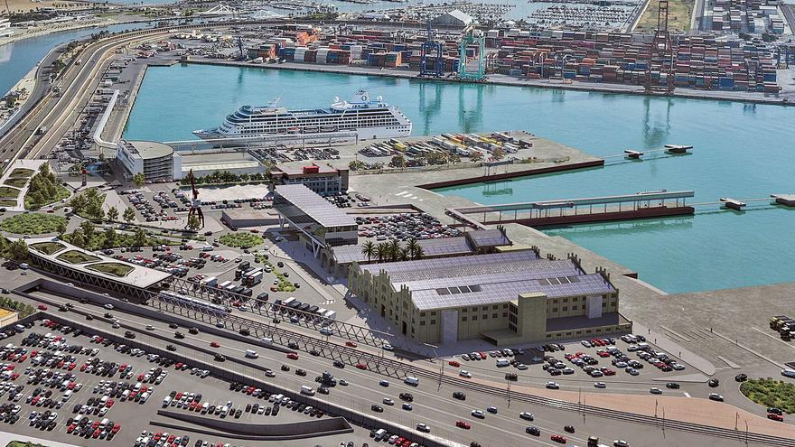 La nueva terminal de cruceros llevará al límite el nivel de ruido