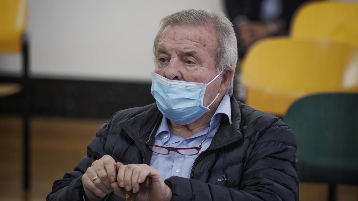 El expresidente de Osasuna Patxi Izco.