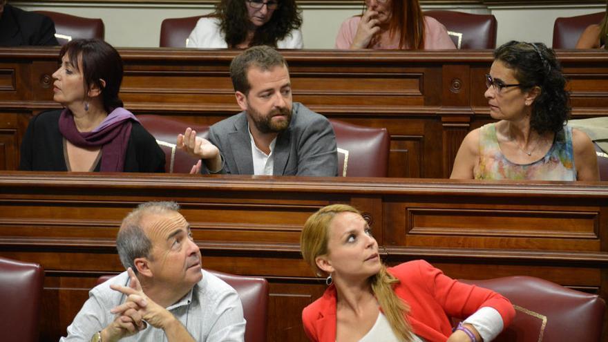"""Delgado denuncia """"ninguneo"""" por parte de la dirección de Podemos"""
