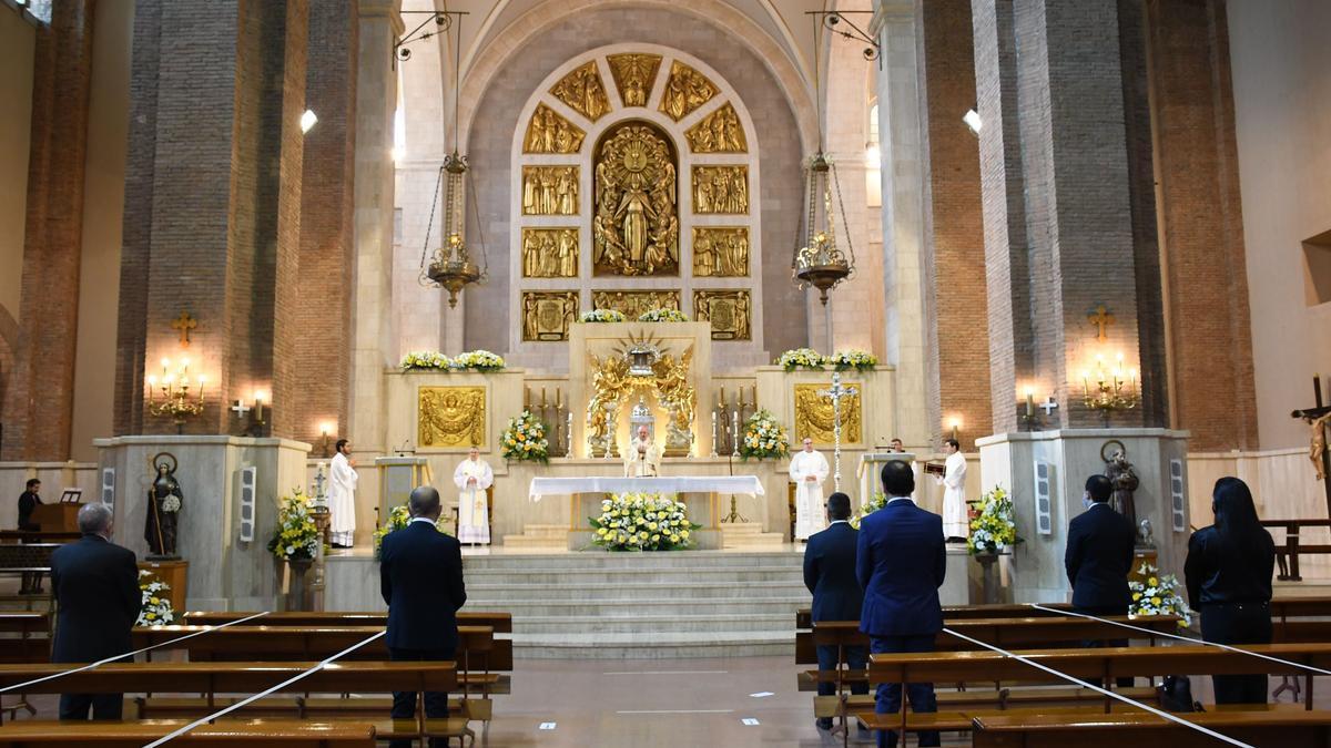 La basílica de Sant Pasqual, de Vila-real, uno de los principales atractivos turísticos