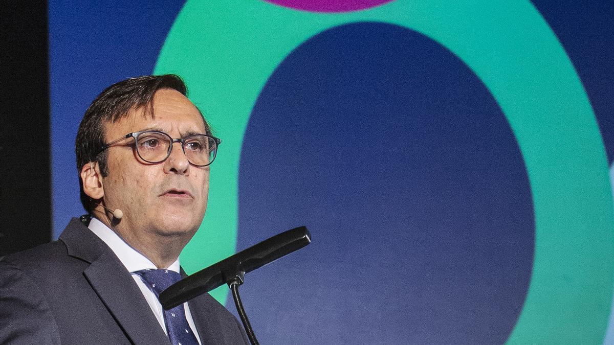 Eduardo Pastor, presidente de Cofares
