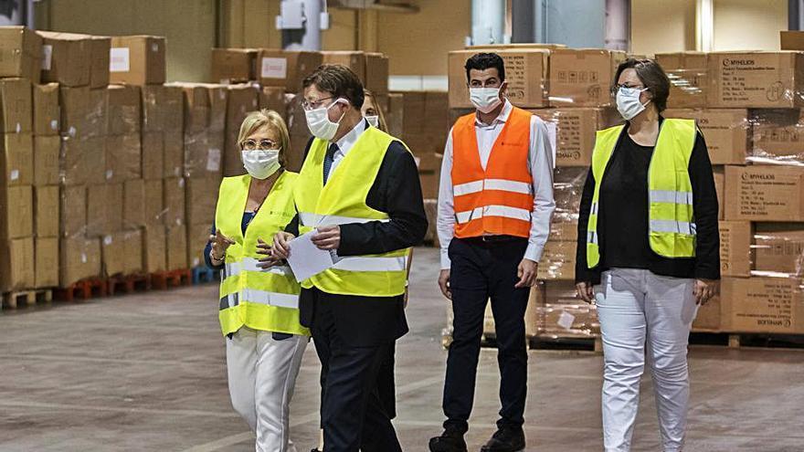 La UE asume 227 millones  de la compra de material de  la Generalitat para la covid-19