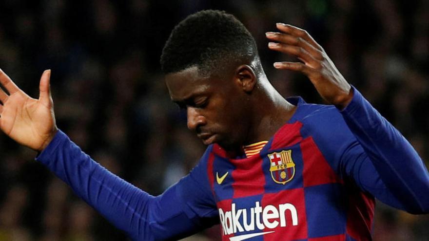 Dembélé dice adiós a la temporada por otra lesión