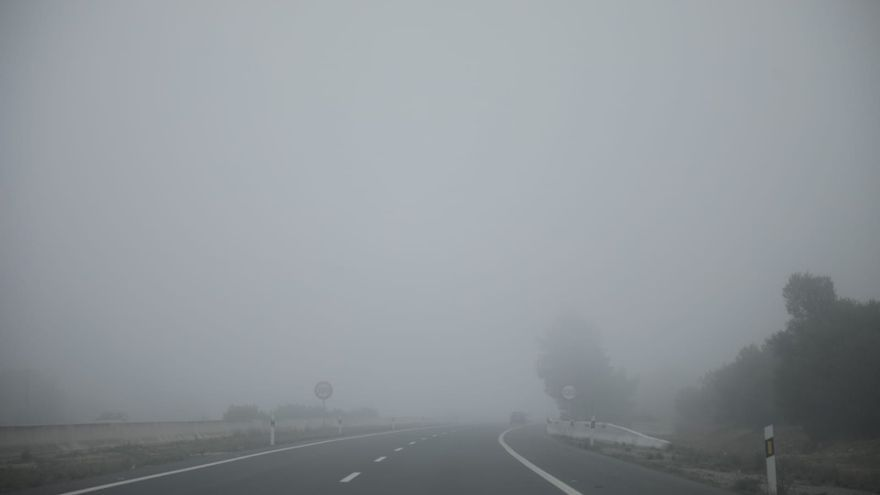 Mallorca amanece cubierta de niebla